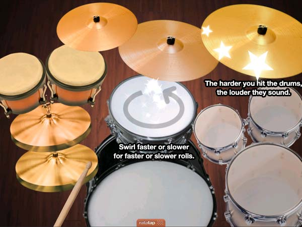 New ways to play drums.
